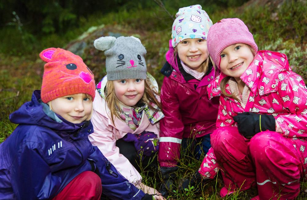 Vihreä lippu | Lapset luontoretkellä